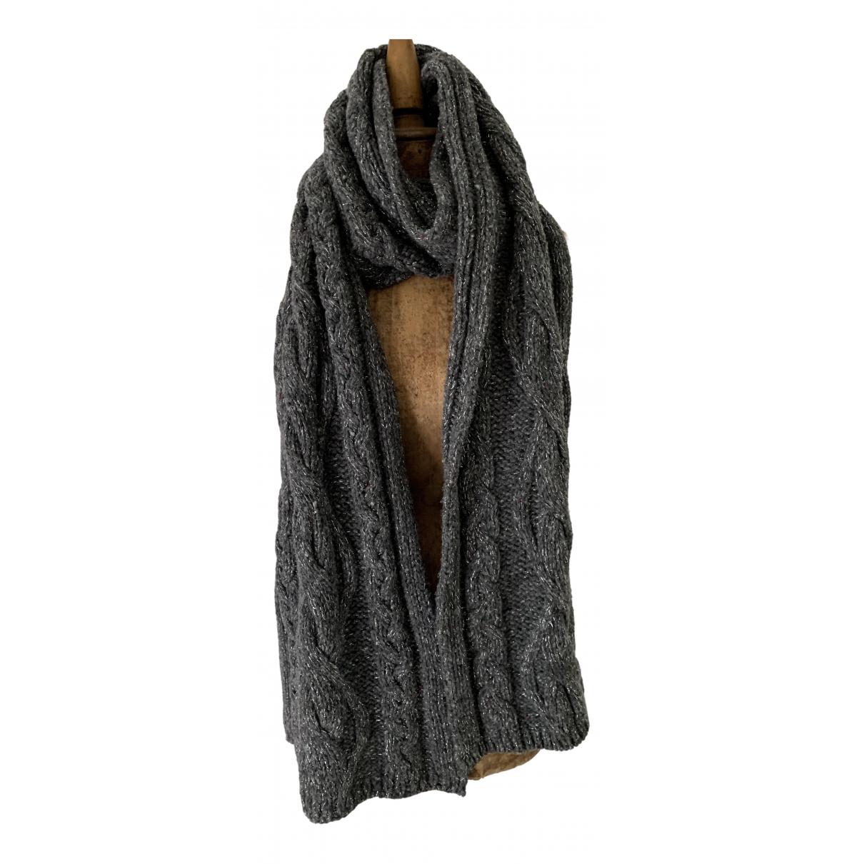 Patrizia Pepe N Grey Wool scarf for Women N