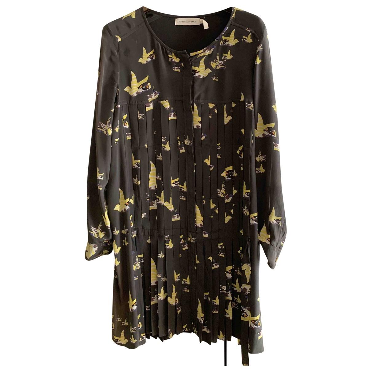 Isabel Marant Etoile \N Black Silk dress for Women 40 FR