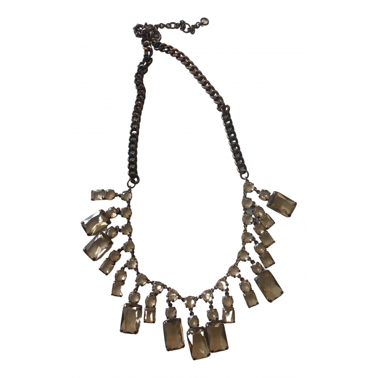 J.crew \N Kette in Metall