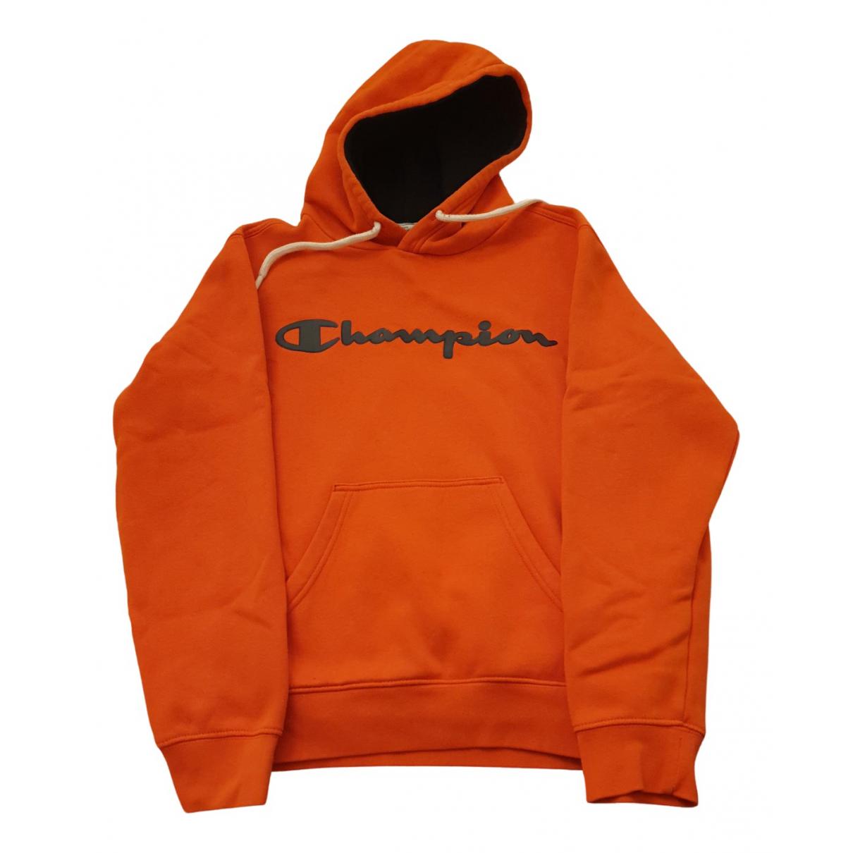 Champion - Pulls.Gilets.Sweats   pour homme en coton - orange