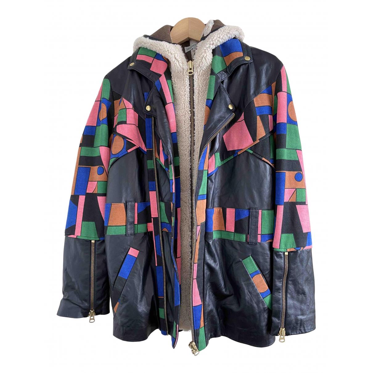 Heimstone \N Black Leather jacket for Women 34 FR