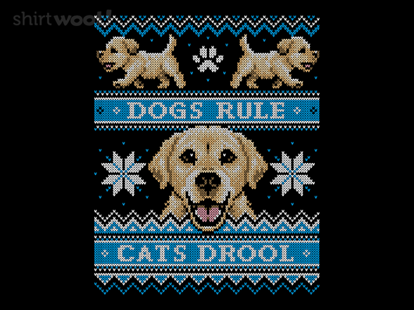 Retriever - Cats Vs. Dogs Sweater T Shirt