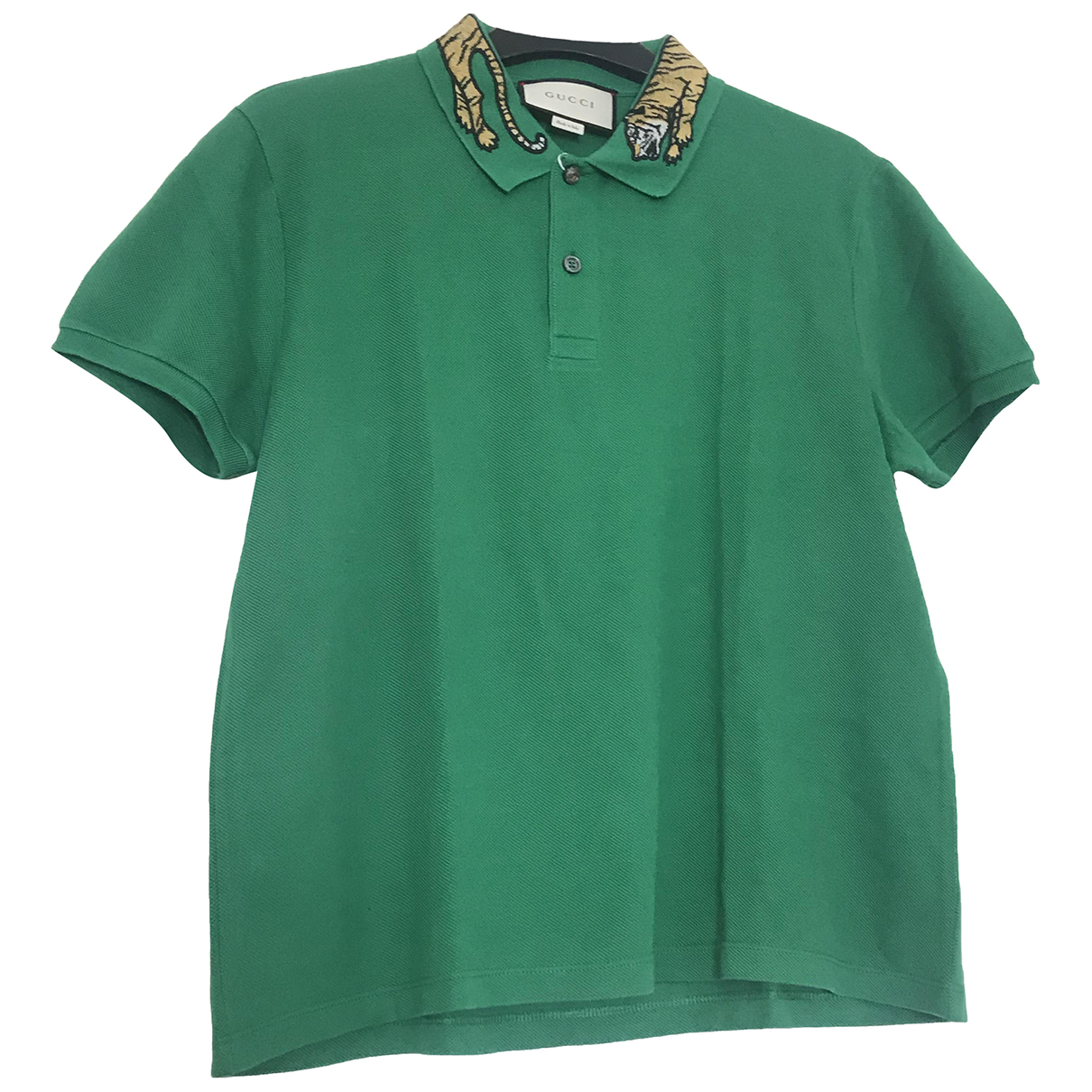 Gucci \N Poloshirts in  Gruen Baumwolle
