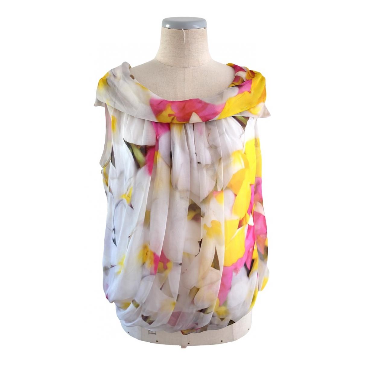 Max Mara Studio \N Multicolour Silk  top for Women 46 IT