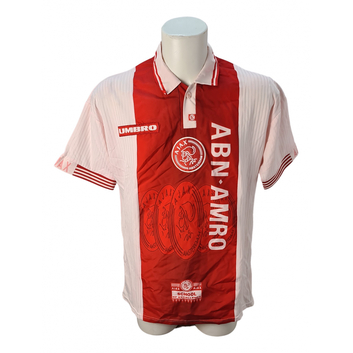 Umbro \N Poloshirts in  Rot Polyester