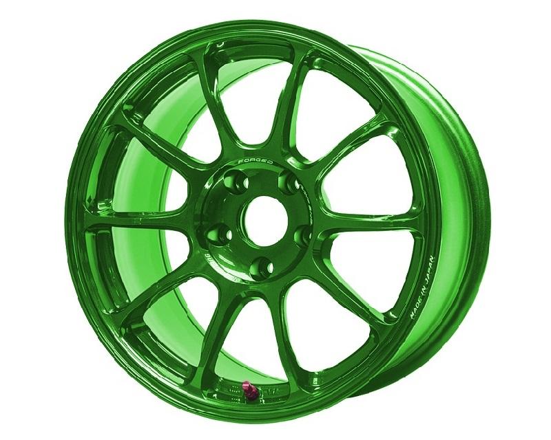 Volk Racing WKZAC24EK ZE40 Wheel 18x10.5 5x114.3 24mm Hyper Green
