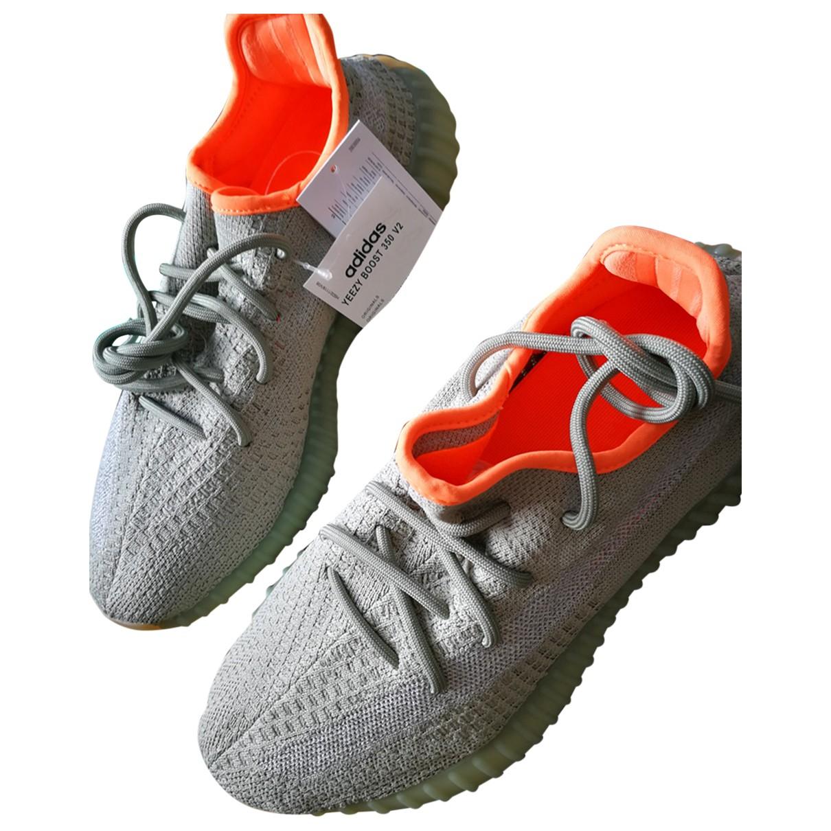Yeezy X Adidas - Baskets Boost 350 V2 pour homme en toile - kaki