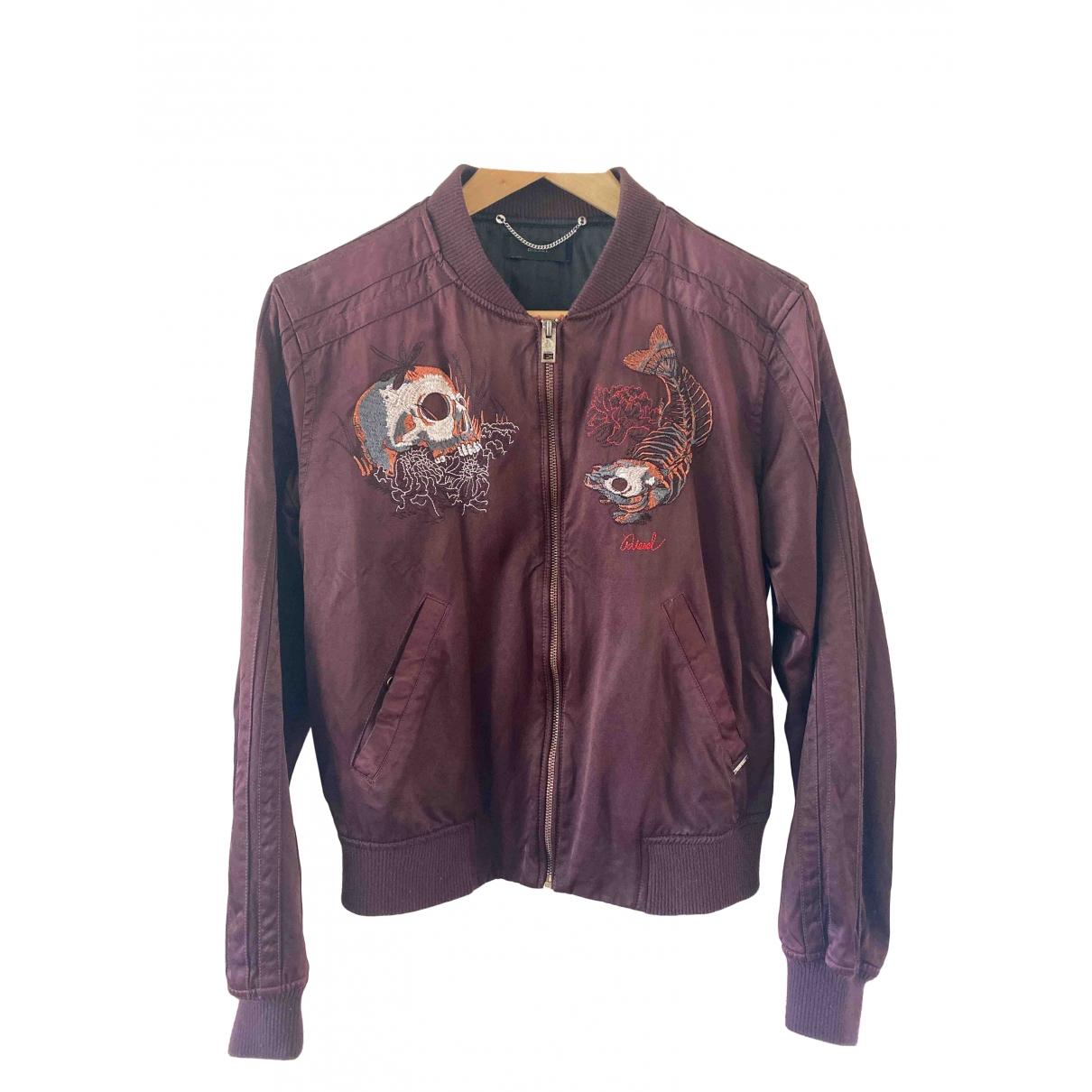Diesel \N Burgundy jacket for Women S International