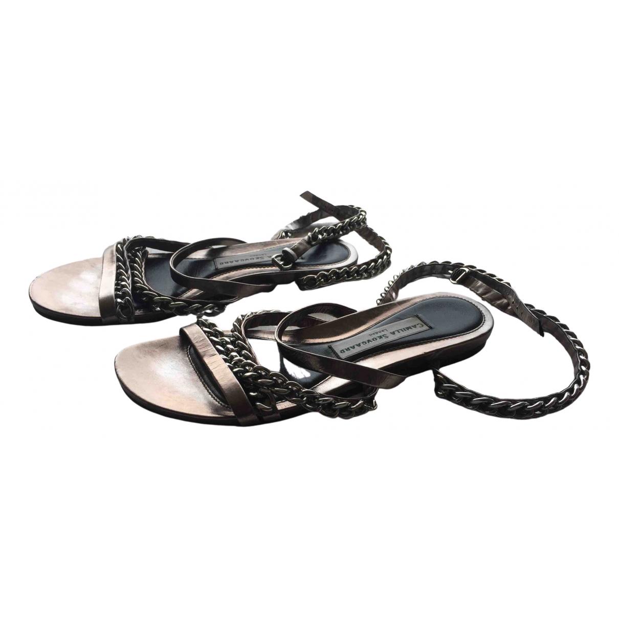 Sandalias de Cuero Camilla Skovgaard