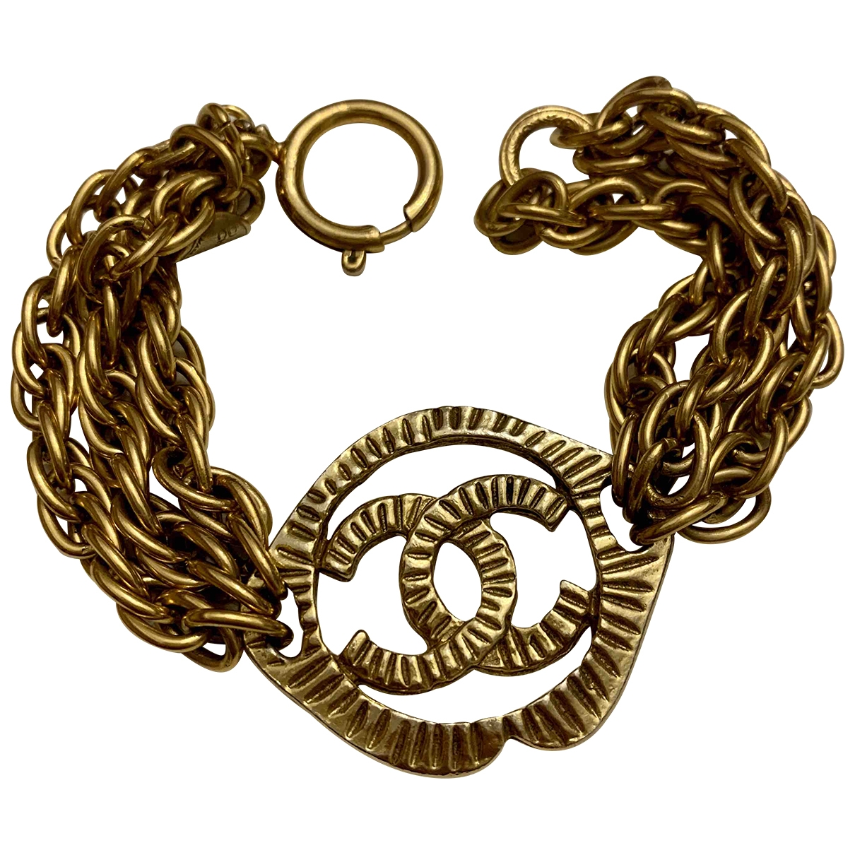 Chanel \N Armband in  Gold Gelbgold
