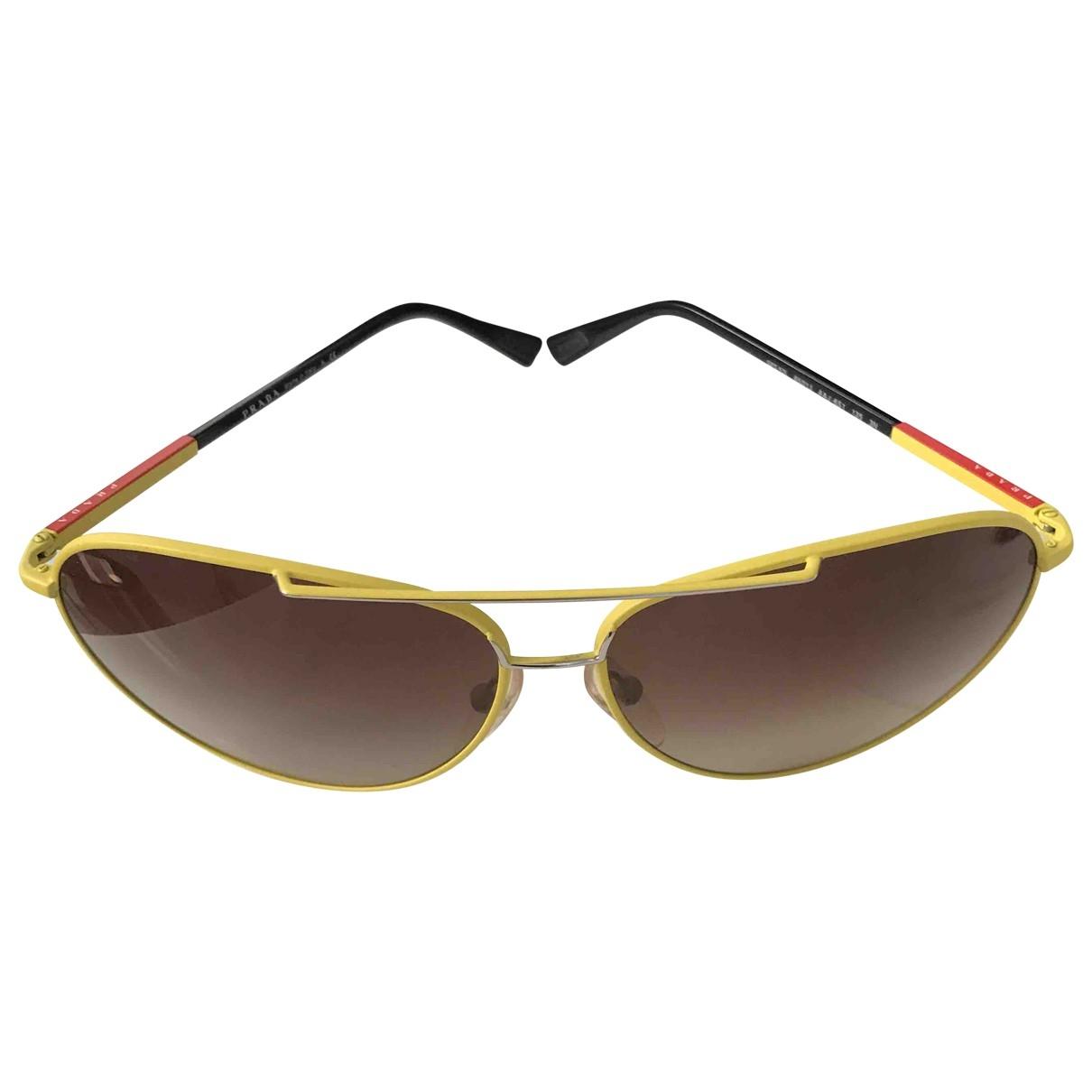 Gafas de aviador Prada