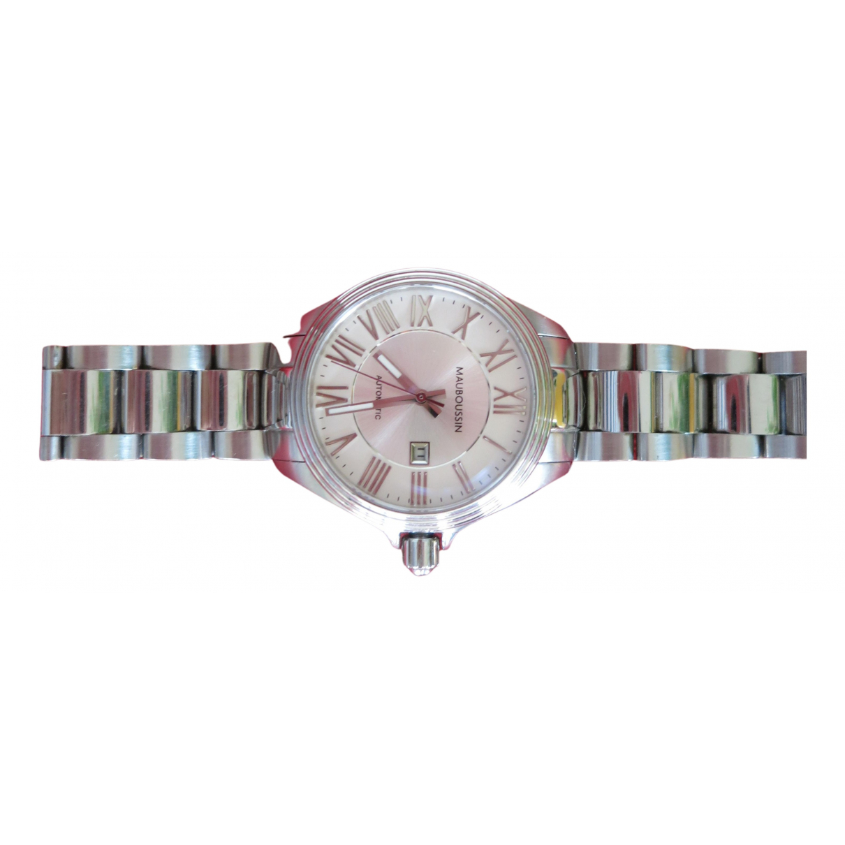Mauboussin \N White Steel watch for Women \N