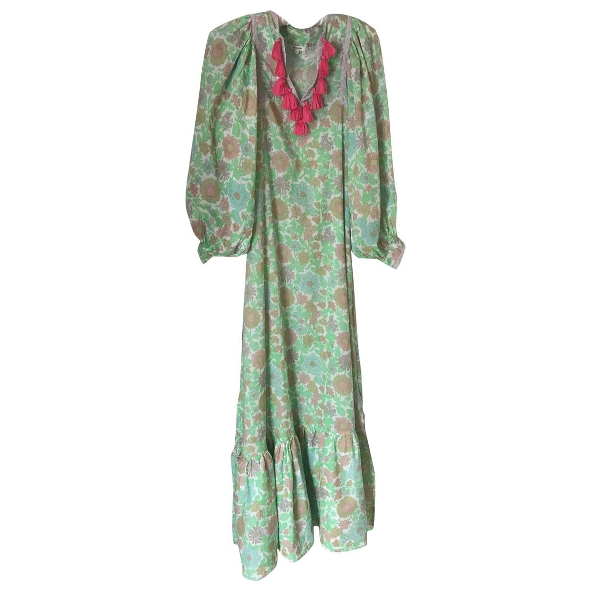 Manoush \N Kleid in  Gruen Baumwolle