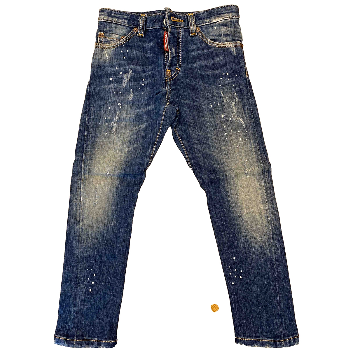 Dsquared2 \N Blue Denim - Jeans Trousers for Kids 6 years - until 45 inches UK