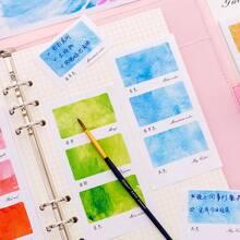 1 paquete de nota adhesiva colorida