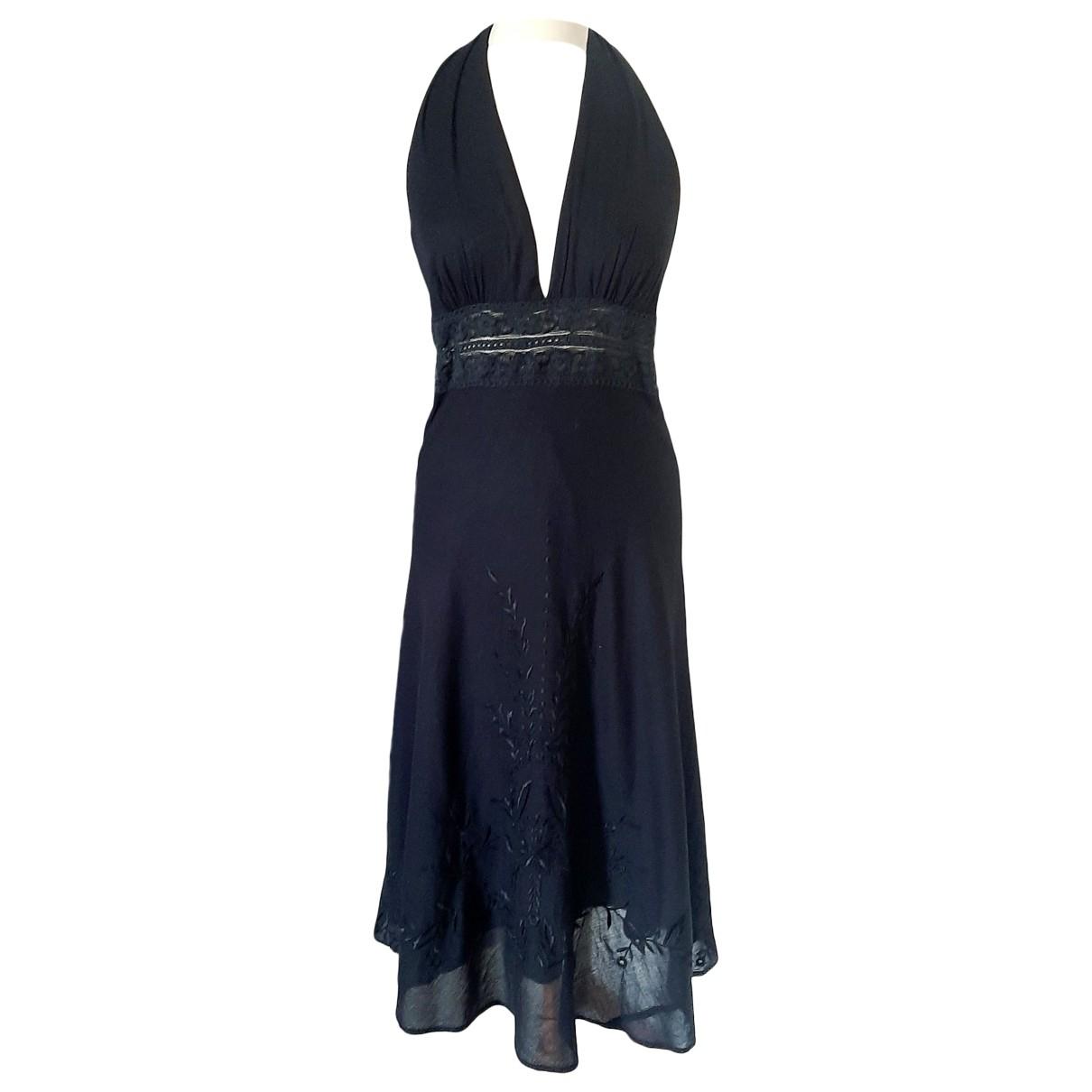 Ba&sh \N Black Cotton dress for Women 2 0-5