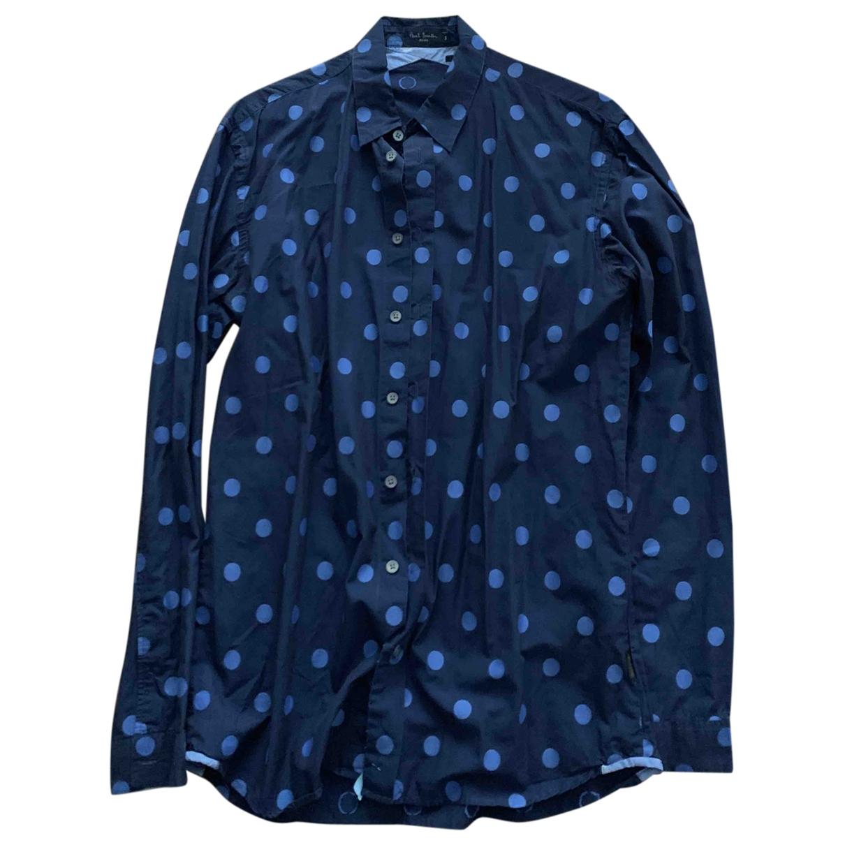 Paul Smith - Chemises   pour homme en coton - marine