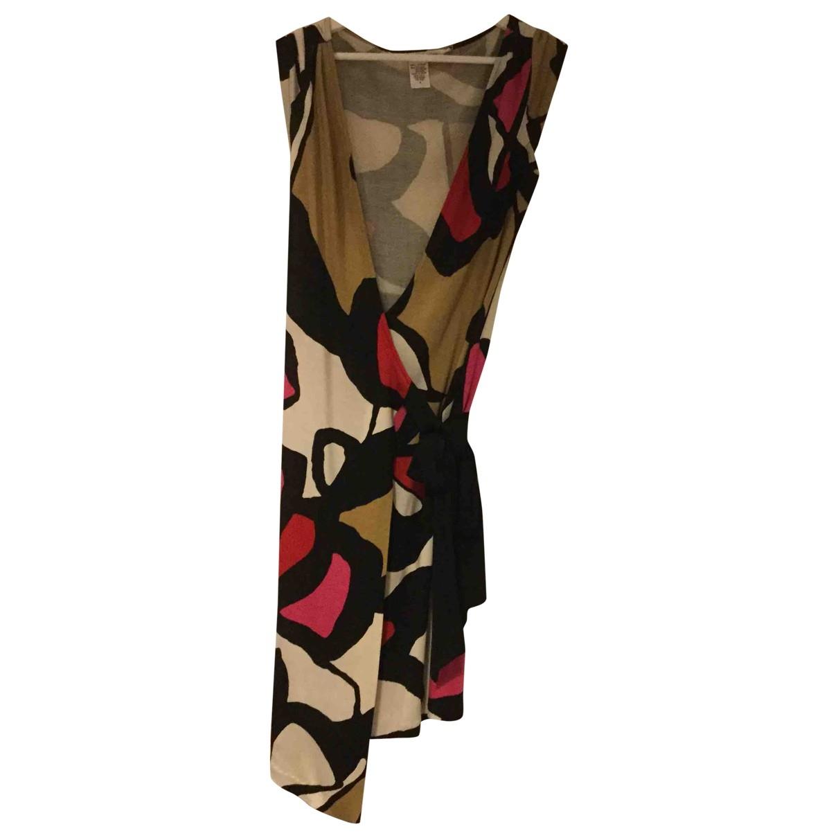 Diane Von Furstenberg \N Multicolour Silk dress for Women 4 0-5