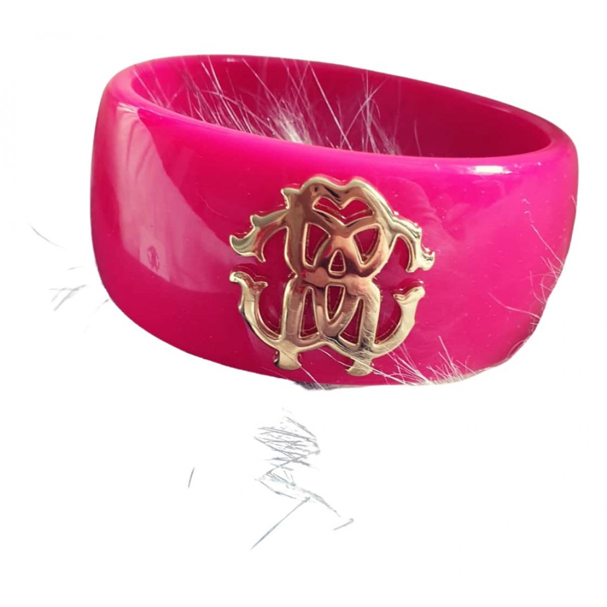 Roberto Cavalli - Bracelet   pour femme - rose