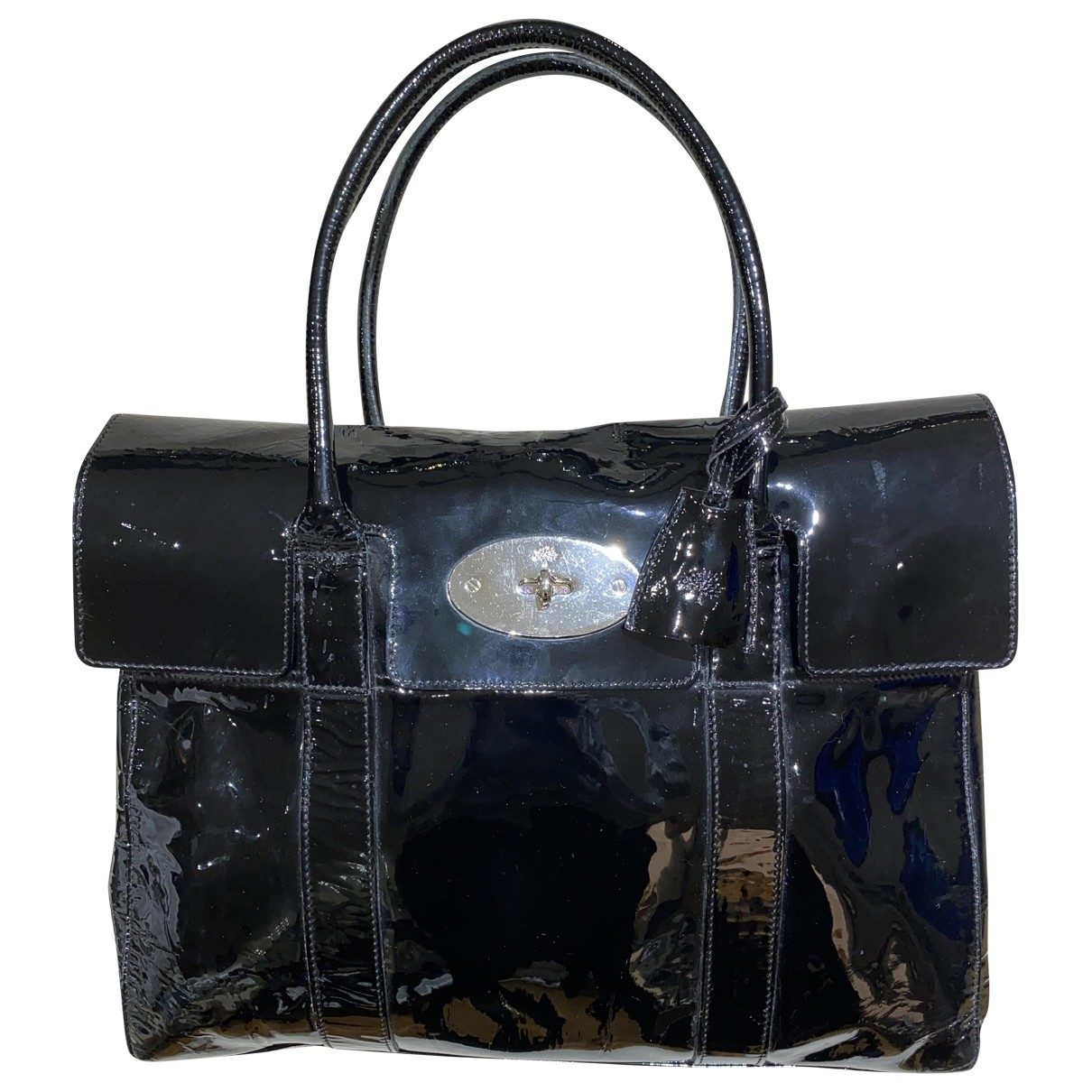 Mulberry Bayswater Black Patent leather handbag for Women \N
