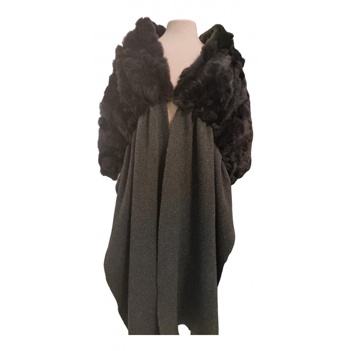 K-yen - Foulard   pour femme en laine - gris