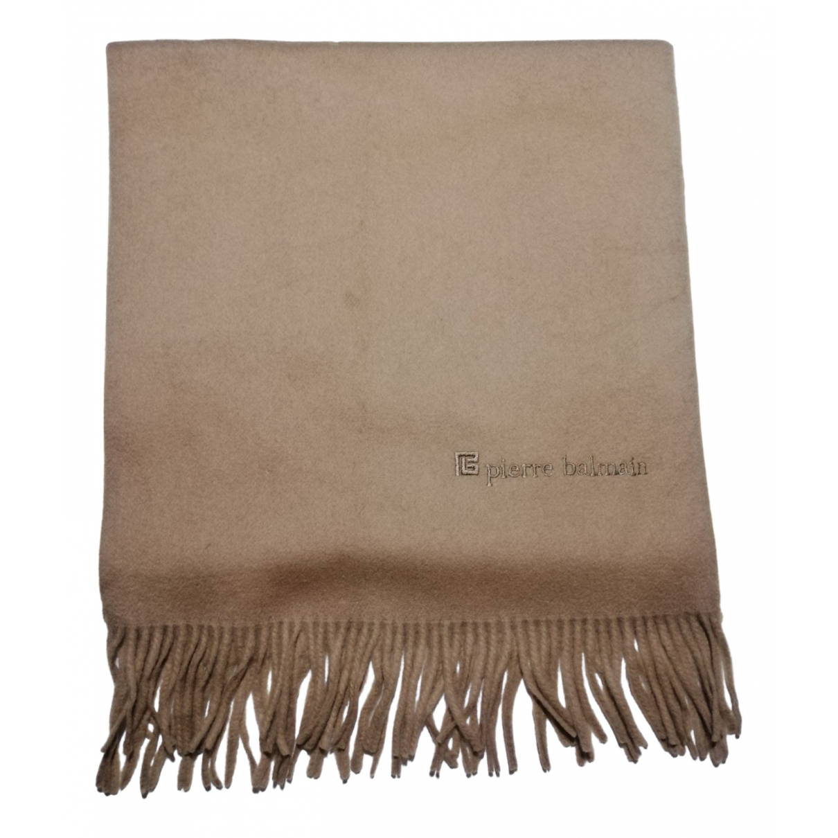 Pierre Balmain N Camel Wool scarf for Women N