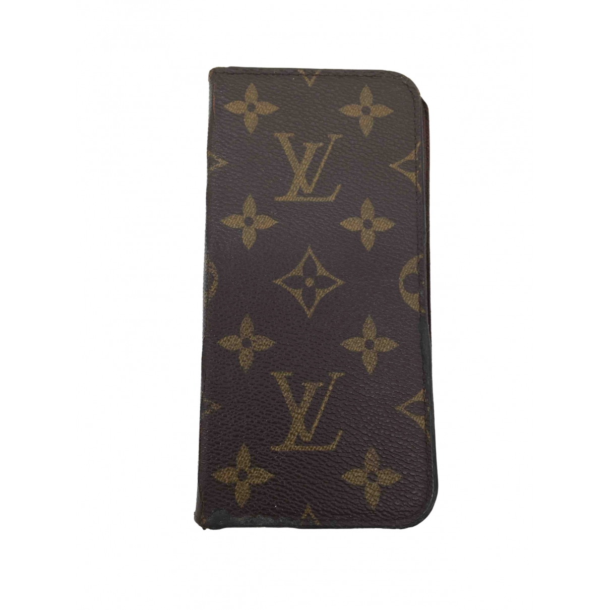 Louis Vuitton \N Brown Cloth Home decor for Life & Living \N