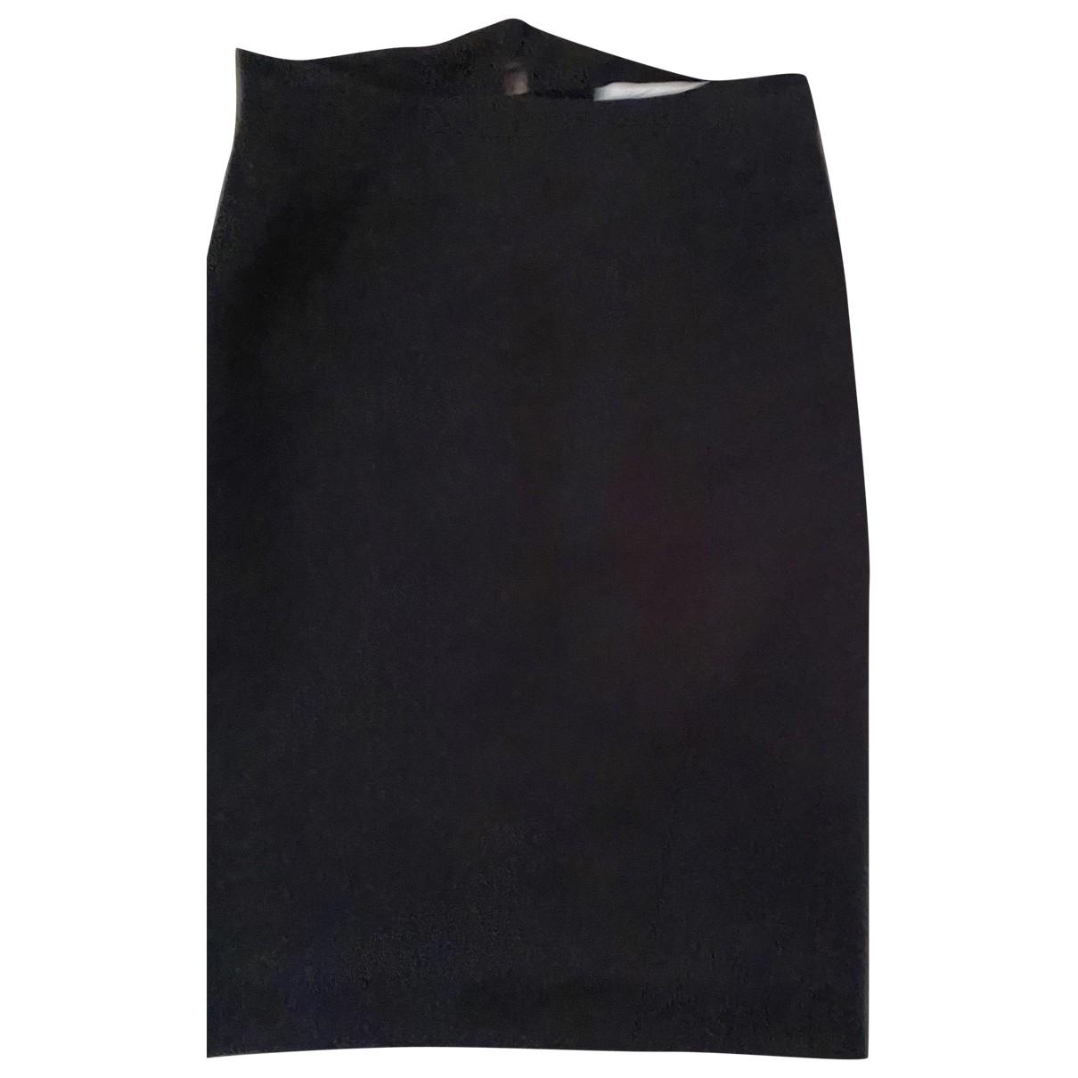 Yves Saint Laurent \N Rocke in  Schwarz Polyester