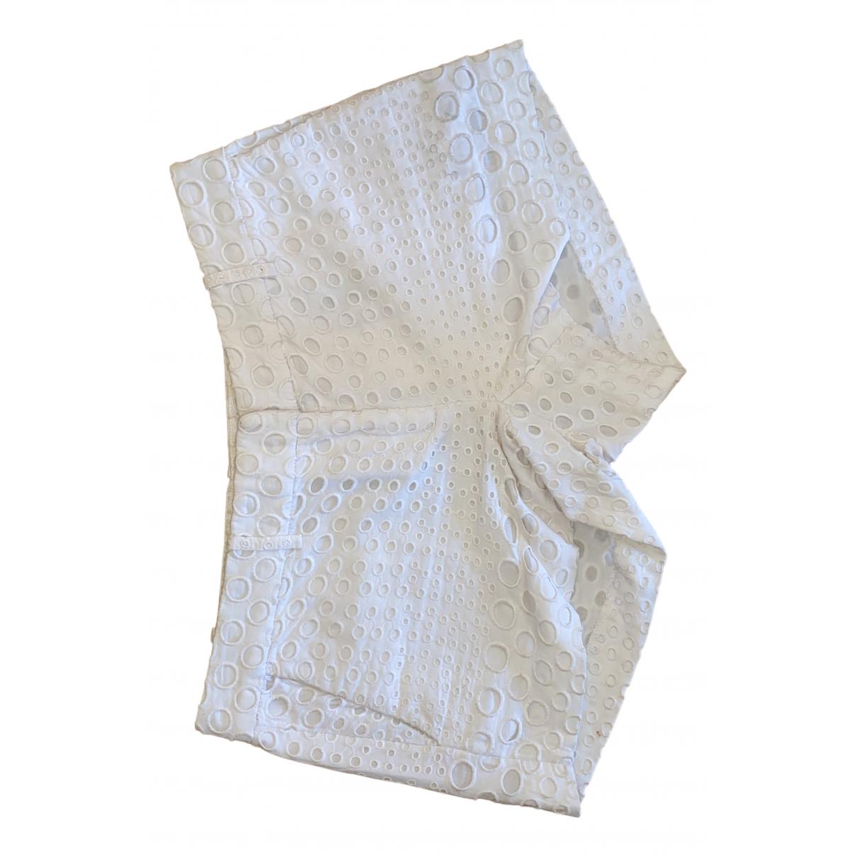 Michael Kors \N Shorts in  Weiss Baumwolle