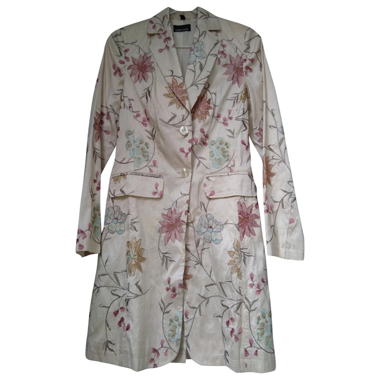 - Manteau   pour femme en soie - multicolore