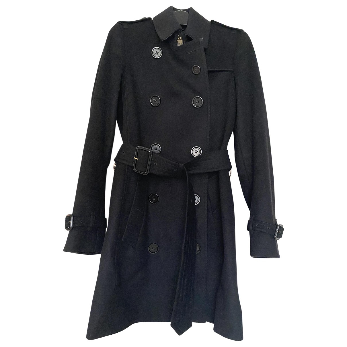 Burberry \N Black Cashmere coat for Women 1 US