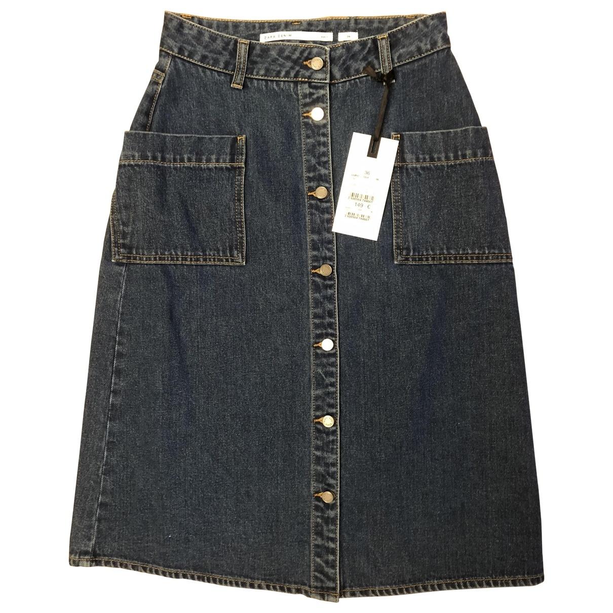 Zapa \N Rocke in  Blau Denim - Jeans
