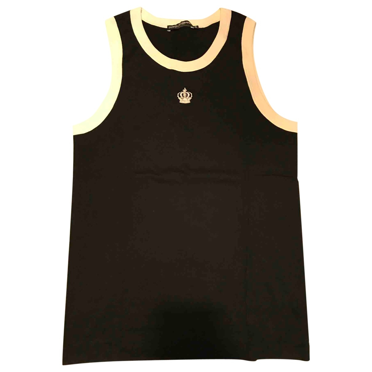 Dolce & Gabbana \N Black Cotton T-shirts for Men M International