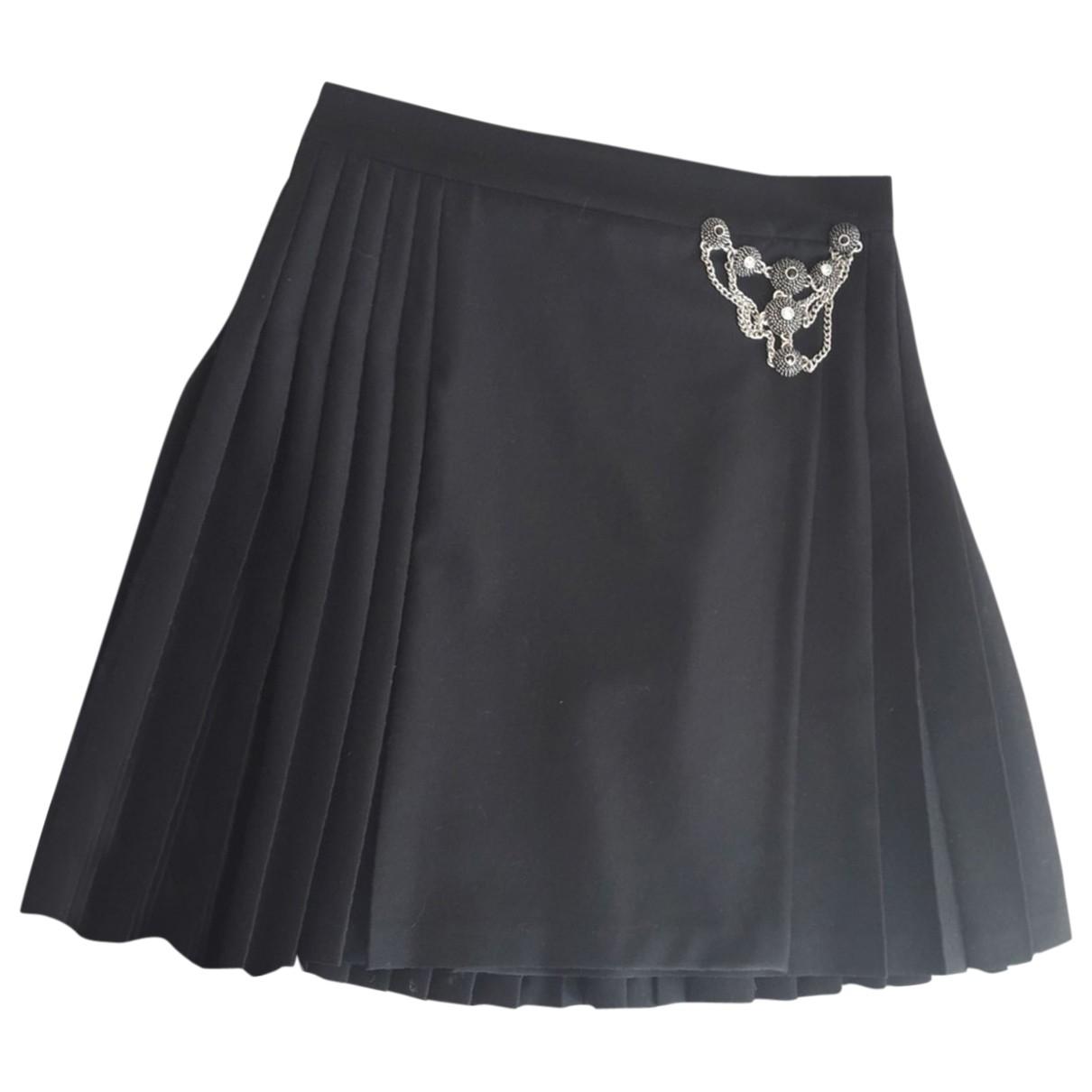 The Kooples - Jupe   pour femme en laine - noir