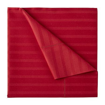 Liz Claiborne Classics Hygro Cotton Tencel Lyocell Temperature Regulating Sheet Set, One Size , Red