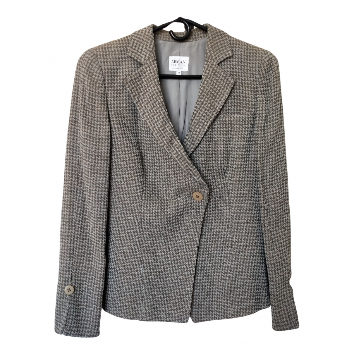 Armani Collezioni \N Grey jacket for Women 44 IT