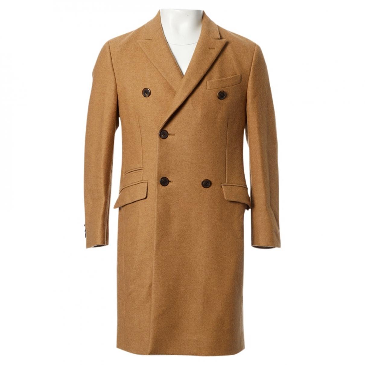 Prada \N Beige Wool coat  for Men 50 IT