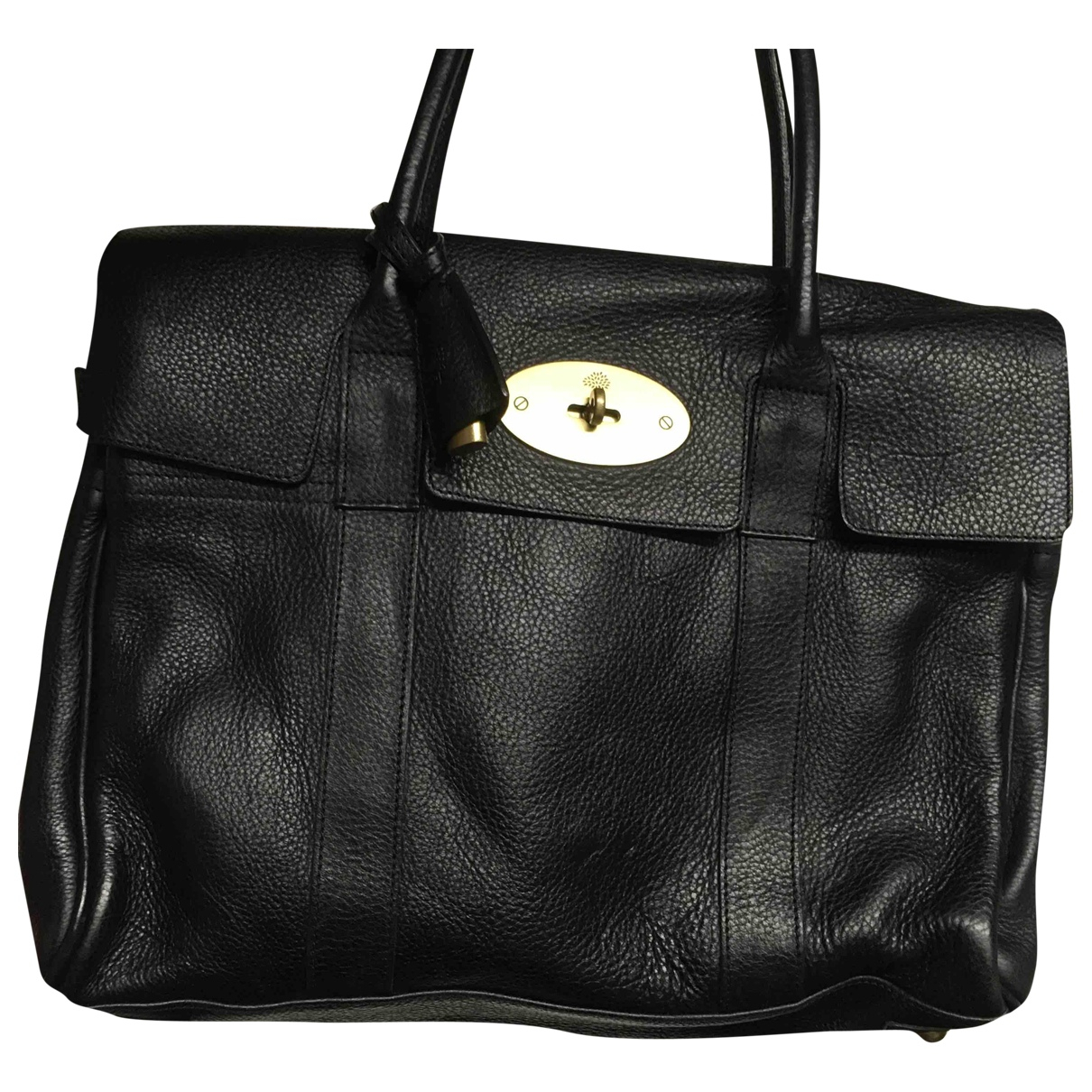 Mulberry - Sac a main Bayswater pour femme en cuir - noir