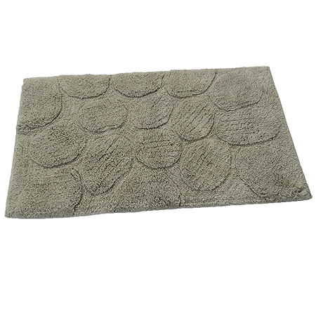 Castle Hill London Palm Bath Rug Collection, One Size , Green