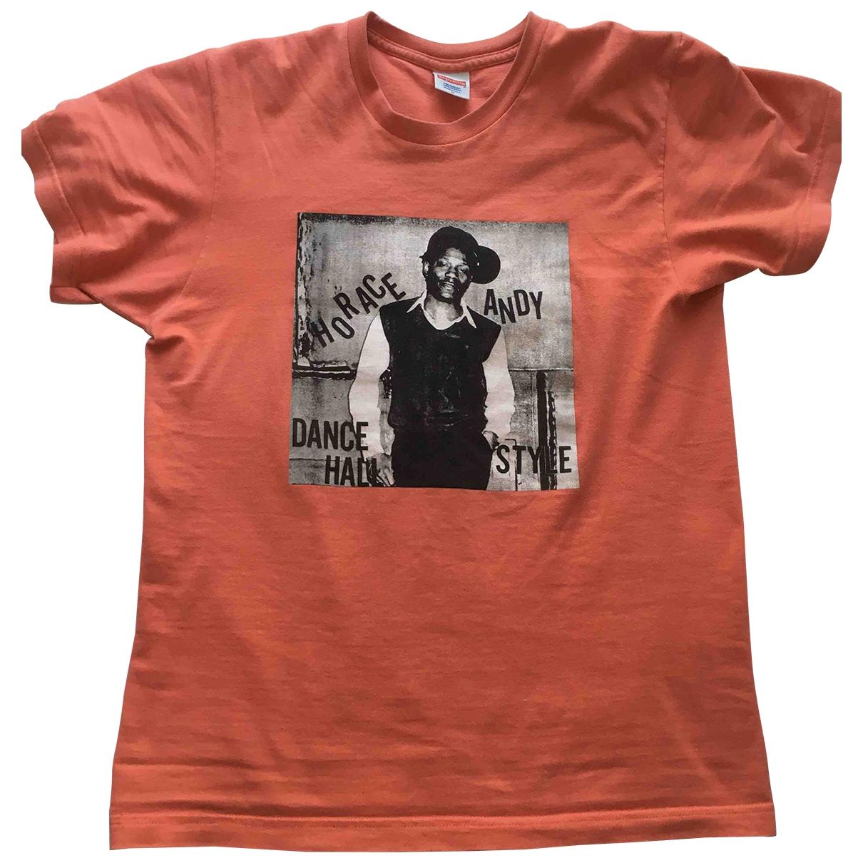Supreme \N Orange Cotton T-shirts for Men M International