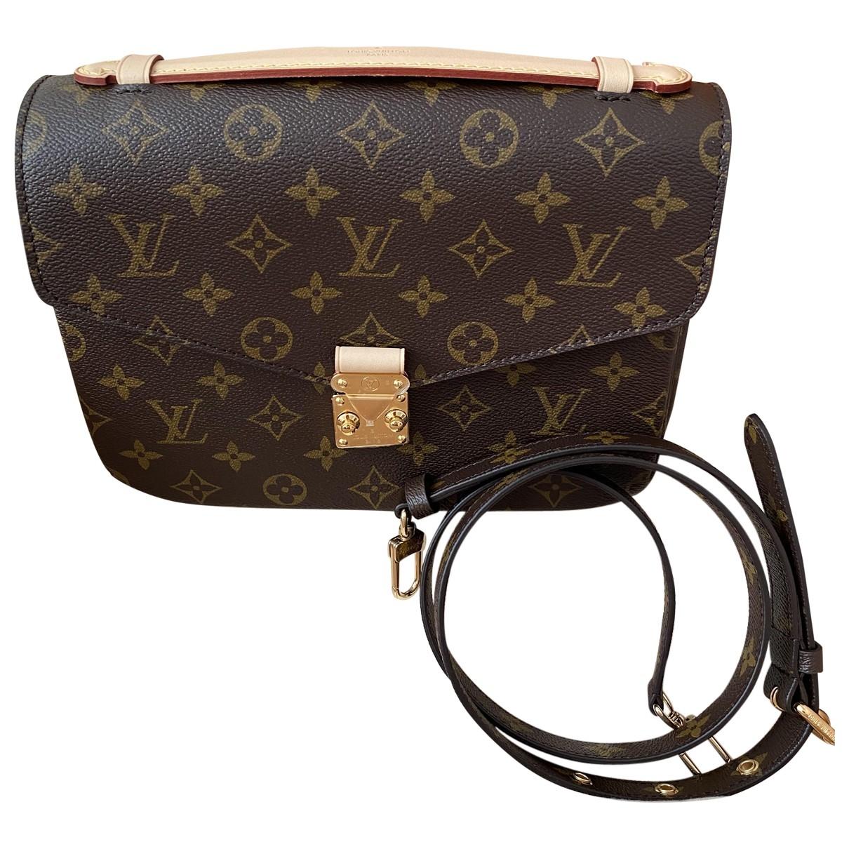 Bolso  Metis de Lona Louis Vuitton