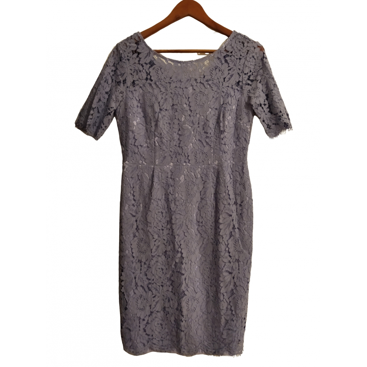 Non Signé / Unsigned \N Purple Lace dress for Women 14 UK