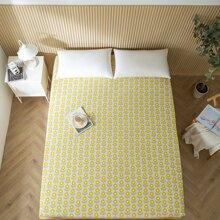 Bettdecke mit Blumen Muster