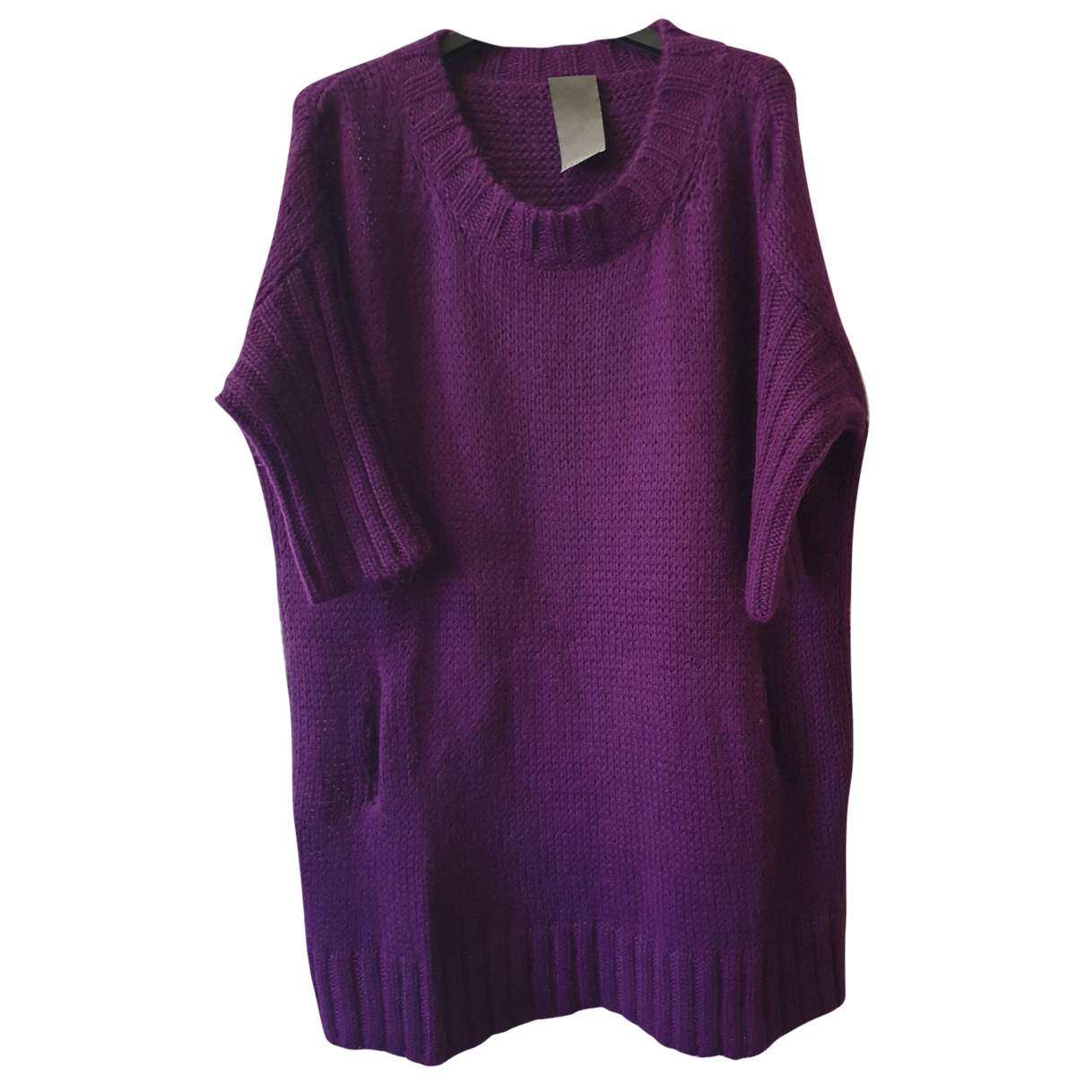 Laneus \N Pullover in  Lila Wolle