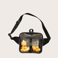 Clear Little Yellow Duck Decor Fanny Pack