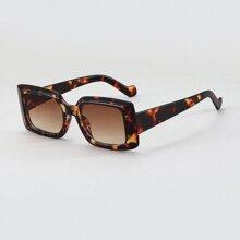 Gafas de sol de hombres de marco con carey