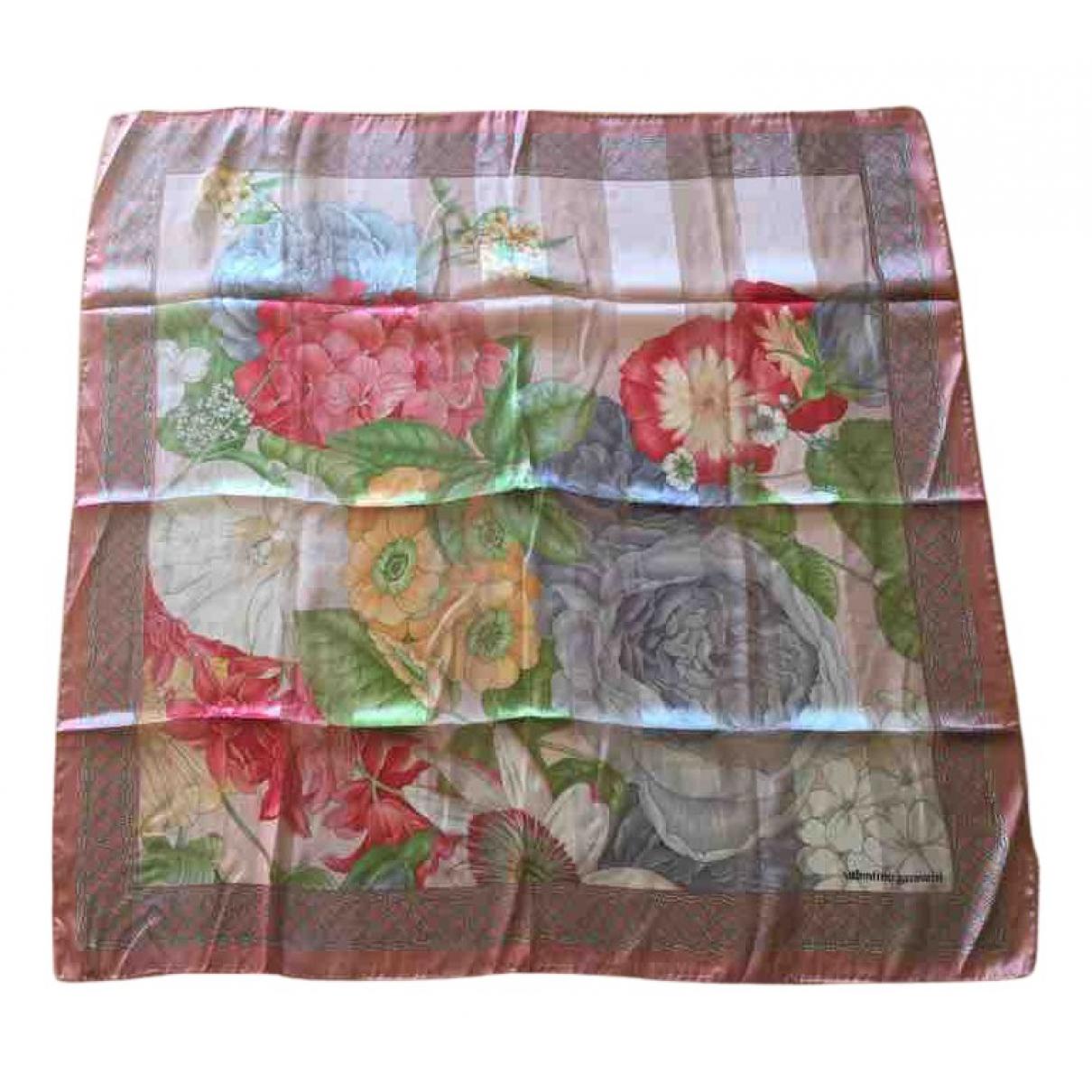 Valentino Garavani N Pink Silk Silk handkerchief for Women N
