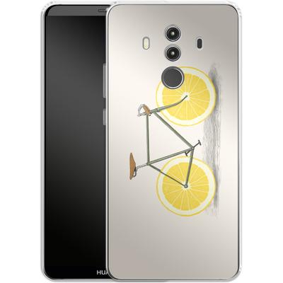 Huawei Mate 10 Pro Silikon Handyhuelle - Zest von Florent Bodart