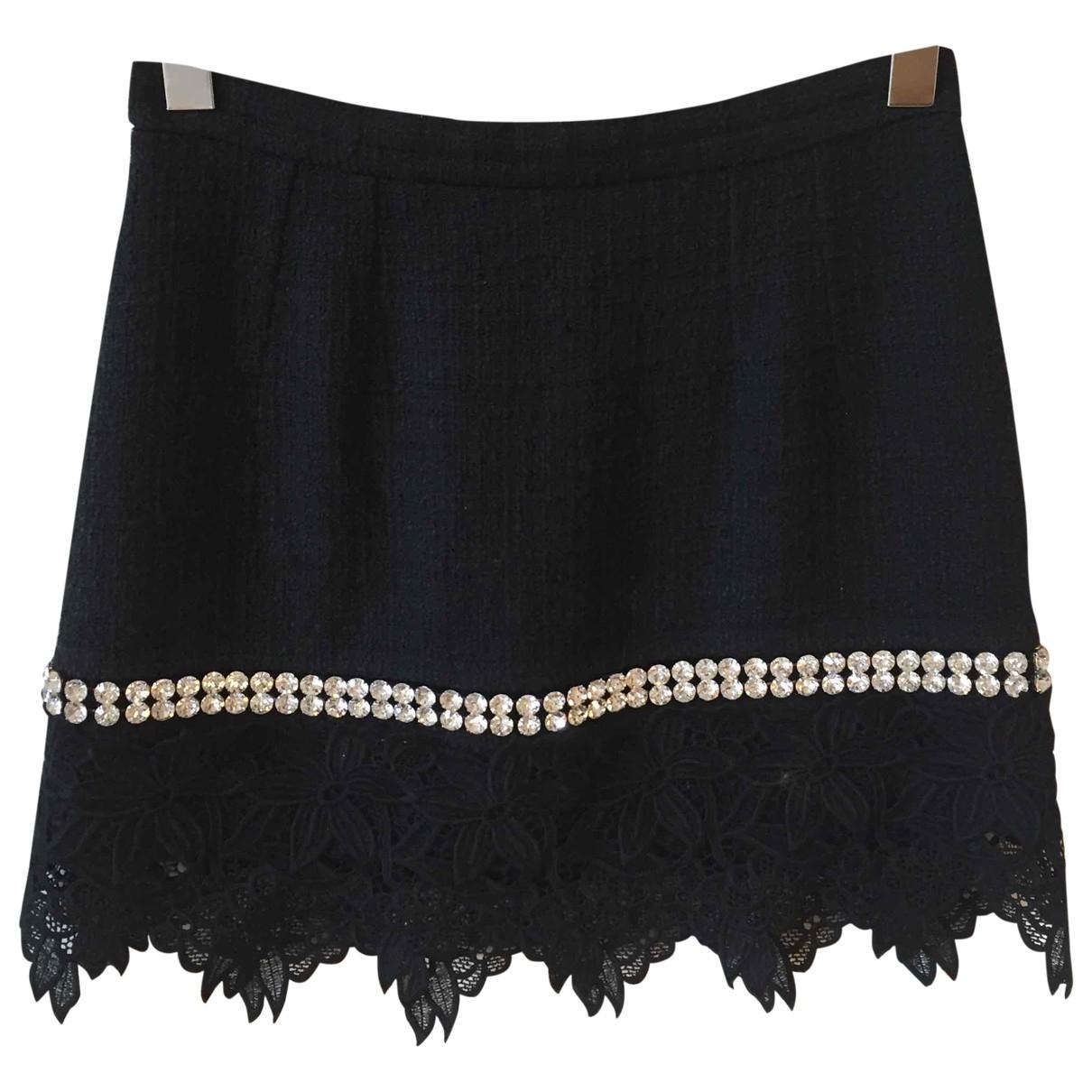 Dolce & Gabbana \N Black Tweed skirt for Women 42 IT