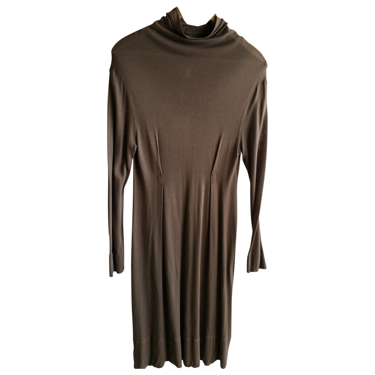 Kristensen Du Nord \N Brown Silk dress for Women 40 FR